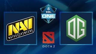 Dota 2 - NaVi vs. OG - Game 3 - ESL One Frankfurt 2016 - Grand Final