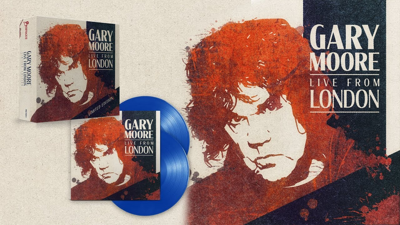 Gary Moore - アルバム全曲フル試聴開始 ライブアルバム 新譜「Live From London」2020年1月31日発売 thm Music info Clip