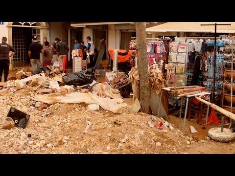 Albufeira Flood Disaster ~ Algarve region of Portugal