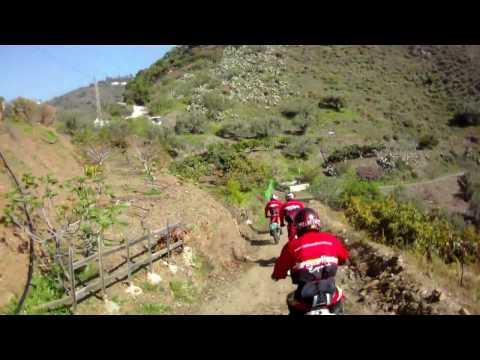 Trail Riding in Spain with Redtread Honda - Day One (Complete)