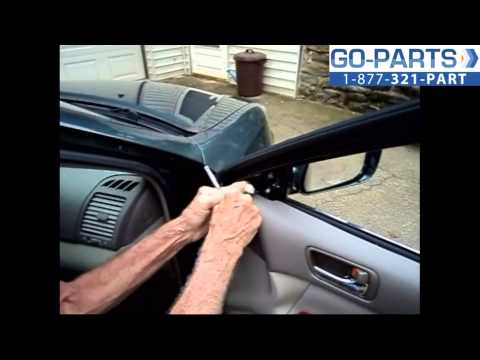 Replace 2002-2006 Toyota Camry Side Rear View Mirror . How to Change Install 2003 2004 2005