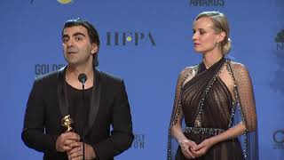 In The Fade Press Interview - Golden Globes 2018