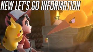 Pokémon Let's Go Pikachu and Eevee News! 9.21.18