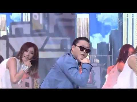 Psy 0715 sbs Inkigayo gangnam Style (강남스타일) video