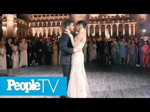 See Nick Jonas And Priyanka Chopra's First Dance | PeopleTV