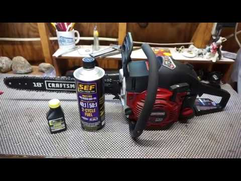 SEF Small Engine Fuel (pre mix) 2 cycle engine fuel review.  VP fuel. is it worth it?