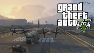 "GTA 5: How To Get The ""TITAN"" AC-130 Like Military Plane (GTA V)"