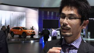 New Subaru XV - Interviews with Subaru staff at Frankfurt Motorshow