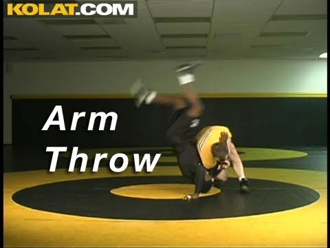 Arm Throw KOLAT.COM Wrestling Takedowns Techniques Instruction Image 1