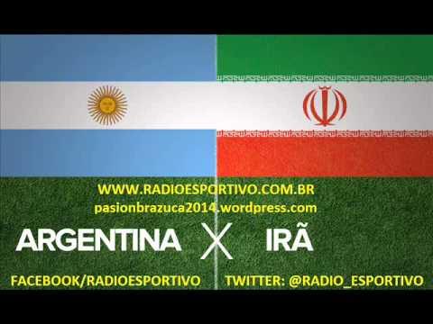 Argentina 1 X 0 Iran - Relato De Alejandro Fantino ( Rádio La Red ) Copa Del Mundo - 21 06 2014 video