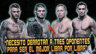 "KHABIB: ""QUIERO VENCER A POIRIER, FERGUSON & GSP""   Henry Cejudo Quiere Ser Triple Campeón del UFC"