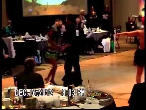 Kiersten Preteen Junior 10 Year Old Rumba 2012 Sunburst Ball video