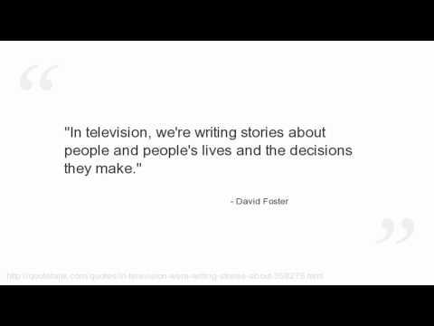 David Foster Quotes