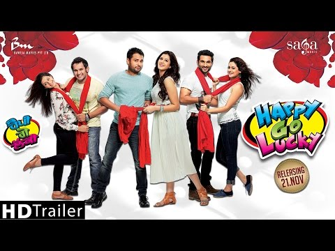 HAPPY GO LUCKY - Official Trailer | Amrinder Gill Harish Verma...