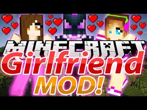 Minecraft Mod Showcase: Girlfriend MOD 1.6.4 ( SEXY GIRLFRIENDS, DATES) (OreSpawn mod)!