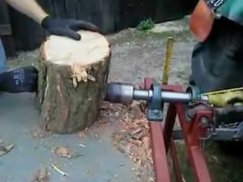 Łuparka świdrowa (rębak) do drzewa WOM