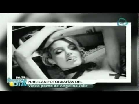 Difunden imágenes del video prohibido de Angelina Jolie