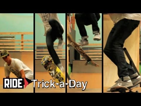 How-To Skateboarding: Impossibles With David Loy - Trick-a-Day