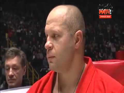 Fedor Emelianenko vs Singh Jaideep FULL FIGHT 31 12 2015 RIZIN FF MMA