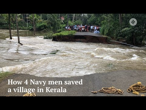 Kerala Floods 2018 | Kerala Floods 2018 News | How 4 Navy Personnel Saved 109 People