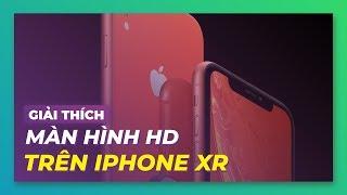 Màn hình HD của iPhone XR khác các hãng khác