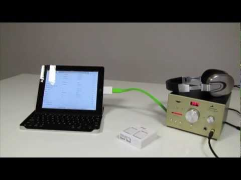 Playing 384kHz audio from the iPad through the Zodiac DAC