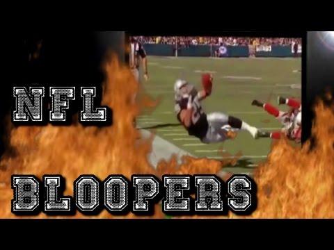 NFL BLOOPERS-FUNNIEST FOOTBALL FAILS,DANCES & FALLS 2015