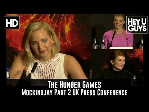 The Hunger Games Mockingjay Part 2 Press Conference In Full - Jennifer Lawrence, Natalie Dormer