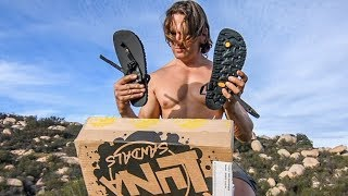 Luna Sandals Unboxing and Mountain Test Run