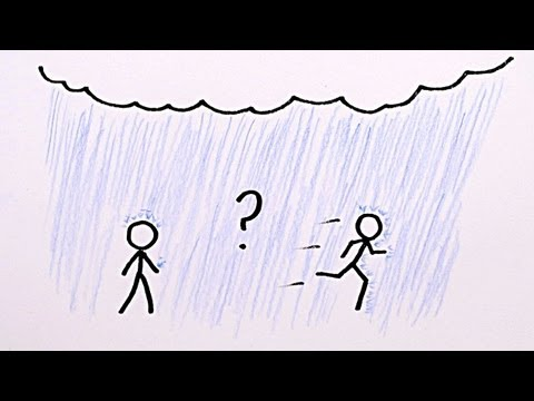 Subscribe to MinutePhysics - it's FREE! http://dft.ba/-minutephysics_sub For recent scientific publications on the walk/rain question: http://iopscience.iop....
