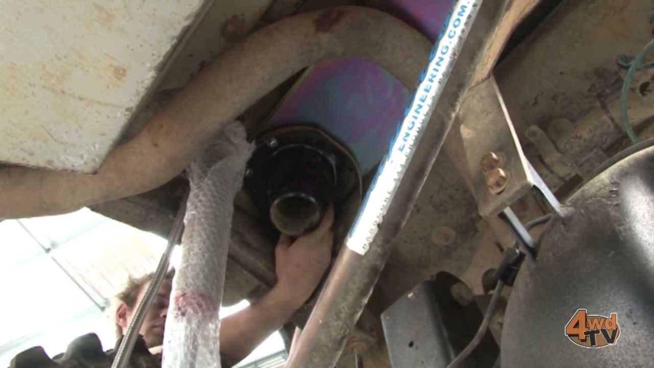 Nissan Patrol Chassis Tower Brace Youtube
