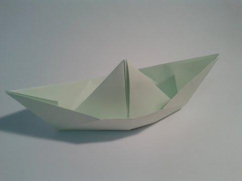 Origami para principiantes: #13 Como hacer un barquito de papel