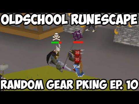 Oldschool Runescape - Random Gear Pking Ep. 10 | 2007 Pking