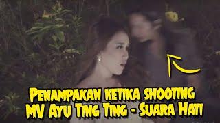 Penampakan ketika shooting MV Ayu Ting Ting Suara Hati