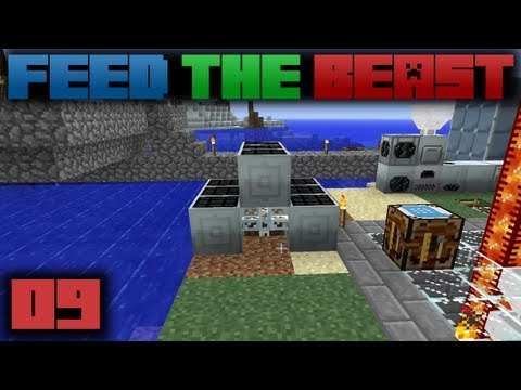 Minecraft Feed The Beast E09: Solar Power
