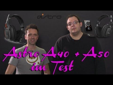 Der große Headset-Test - Astro A40 + A50 - obere Kategorie
