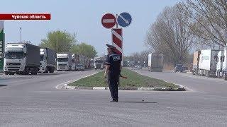 На границе работают «толкачи», - дальнобойщики / 04.04.19 / НТС