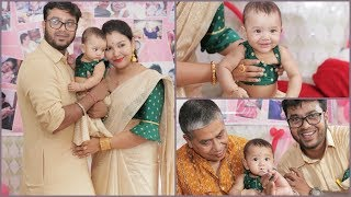 Twiggys Annaprashan Video | Traditional Rice Eating Ceremony function / INDIANGIRLCHANNEL TRISHA