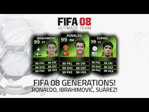 FIFA 08 GENERATIONS!   RONALDO. IBRAHIMOVIĆ. SUÁREZ!