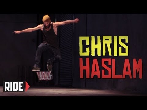 Skateboarding in Slow Motion: Chris Haslam - Switch No Comply Frontside 360 Heelflip and More!