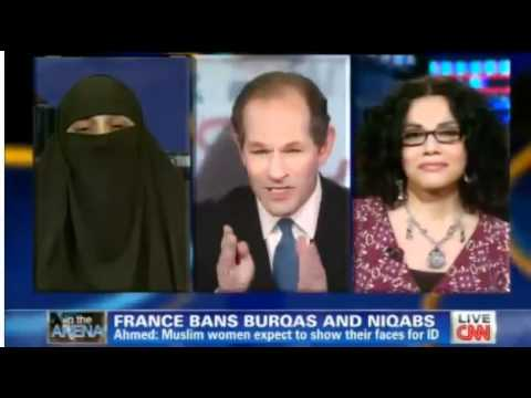 A Muslim women win the debate about Burqa