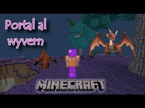 Minecraft mods hardcore Gameplay: Portal al Wyvern #21