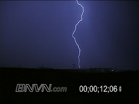 6/18/2003 Overnight lightning video
