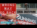 LOCAL SKATEPARK AND DICKIES UNBOXING!