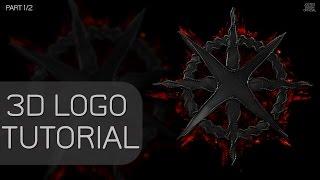 TUTORIAL:3D Logo Banner Template C4D - Part 1/2