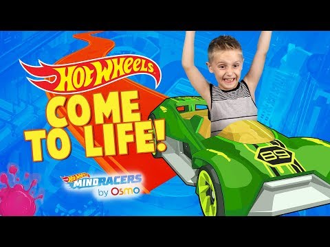 Hot Wheels Cars Come to Life with Osmo Hot Wheels™ MindRacers