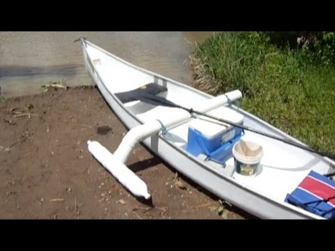 The Worlds Coolest 100 Catfishing Canoe With Homemade