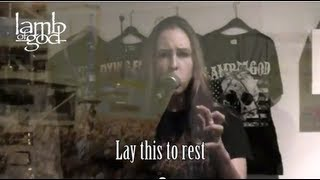 download lagu Vocal Cover: Lamb Of God - Laid To Rest gratis