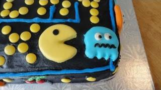 Max's 12th Birthday Cake :  The Pacman Game created by yoyomax12