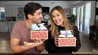 DIY BABY SHOES ft LAURDIY!! (PRACTICING BEING A PARENT!)